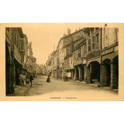 71 LOUHANS. Café Paquelier sur Grande Rue