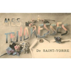 "03 SAINT-YORRE. Carte Fantaisie "" Tendresses """