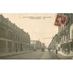 93 MONTREUIL-SOUS-BOIS. Distillerie Hémard rue de Paris 1930