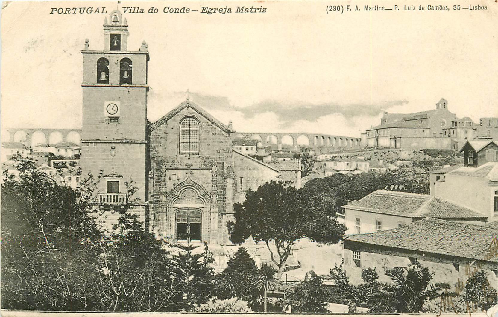 PORTUGAL. Villa do Conde Egreja Matriz