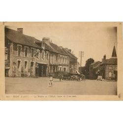 35 HEDE. La Mairie et et Hôtel route de Combourg sur la Grande Place
