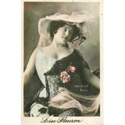 Spectacle Artistes Par Oricelly. Lise Fleuron 1906