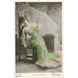Spectacle Artistes. De Lavergne 1907 . Photo Reutlinger