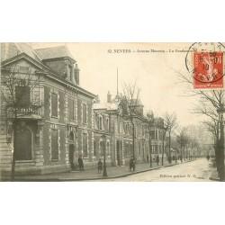 58 NEVERS. La Gendarmerie Avenue Marceau 1910
