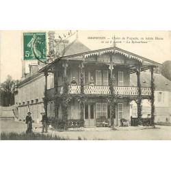36 ISSOUDUN. Blazac ou Balzac habita au Chalet de Frapesle 1908