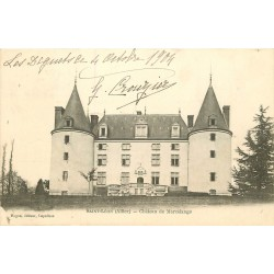 03 SAINT-LEON. Yzeure. Château de Marcelange 1904