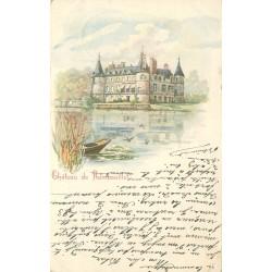 78 CHÂTEAU DE RAMBOUILLET. Superbe représentation 1903