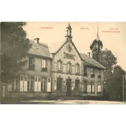 15 CONDAT. Mairie et Ecoles Communales 1928