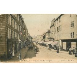 50 GRANVILLE. Pâtisserie, Boucherie et Felix Potin rue Lecampion