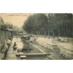 50 GRANVILLE. Laveuses Lavandières sur le Boscq 1915