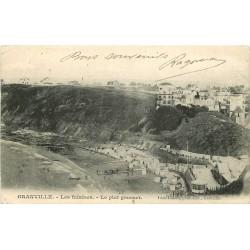 50 GRANVILLE. Les Falaise et le plat Gousset 1904