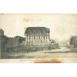 50 GRANVILLE. Photo carte postale du Normandy Hôtel