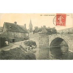 50 PONT-HEBERT. Lavandières à la Rivière 1912