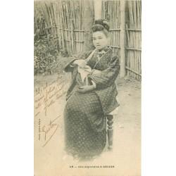 VIÊT-NAM JAPON. Une Japonaise à Saïgon 1906