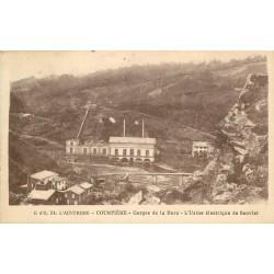 63 COURPIERE. Usine électrique de Sauviat Gorges de la Dore