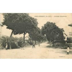 52 CHALINDREY. Avenue Gambetta 1918