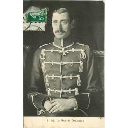 DANEMARK. Le Roi Christian X vers 1914