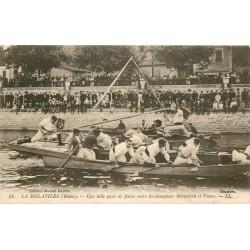 69 LA MULATIERE. Passe de Joutes entre champions Bonnefond et Veaux 1919