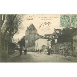 24 SARLAT. Tour du Bourreau avec animation 1906