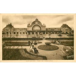 22 SAINT-BRIEUC. Gare de l'Ouest-Etat 1937