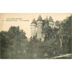 19 SAINT-SANTIN-CANTALES. Château de Vals 1924