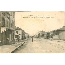 42 ROANNE. Café du Siècle et Caserne Werlé Route de Paris