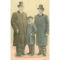 06 SAINT-MARTIN-VESUBIE. Le Père Hugo et ses deux fils Géants