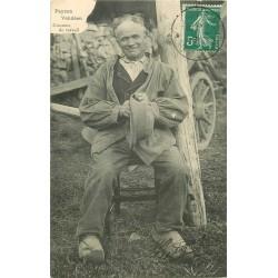 85 PAYSAN VENDEEN. Costume de travail 1911
