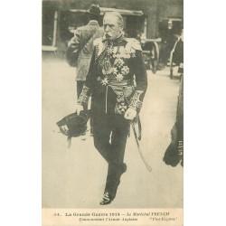 GUERRE 1914. Le Maréchal French Commandant l'Armée Anglaise 1915