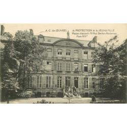PARIS IV. Oeuvres Protection de la Jeune Fille au 70 rue Denfert-Rochereau 1941