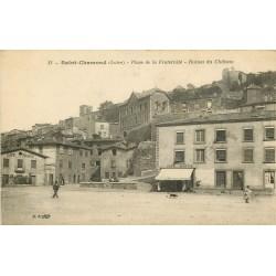 42 SAINT-CHAMOND. Cafés Martin et Pagaud Place de la Fraternité