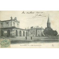 63 RIOM. Place Saint-Amable 1906