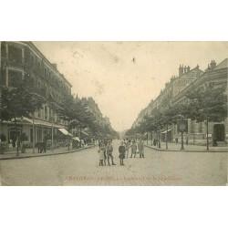 71 CHALON-SUR-SAONE. Animation Boulevard de la République 1909