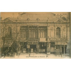 83 TOULON. Le Casino publicités Picon et Dubonnet