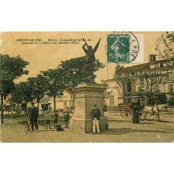 94 CHOISY-LE-ROI. Statue du Combat de la Gare aux Boeufs 1907