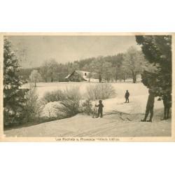 LES ROCHATS SUR PROVENCE. Jeune skieur en Suisse 1916