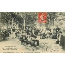 07 VALS-LES-BAINS. Parc des Vivaraises 1908