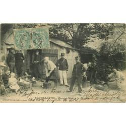 63 BOURG-LASTIC. La Popotte au Camp militaire 1906