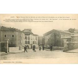 30 ALAIS ou ALES. Nouveau Pont de Berthole 1922
