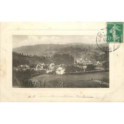 74 ALBI-SUR-CHERAN. Vue sur le Village et son Pont 1911