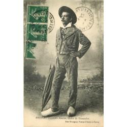 01 BRESSAN. Costume ancien ou Habit du Dimanche 1918