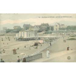 17 PONTAILLAC. Arrivée sur la Plage 1905