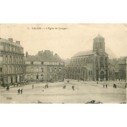 62 CALAIS. Eglise du Courgain 1914