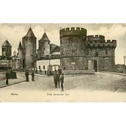 57 METZ. Das deutsche Tor ou la Tour allemande 1908