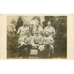 Superbe et rare Photo Carte Postale. Groupe de Militaires du 321° Régiment d'Infanterie