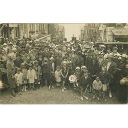 80 AULT ONIVAL. Superbe et rare Photo carte postale Avenue du Casino 1926
