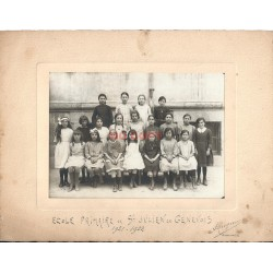 Photo 74 ECOLE PRIMAIRE DE SAINT-JULIEN EN GENEVOIS 1921