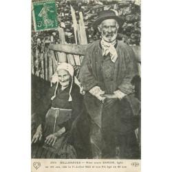 03 BELLENAVES. La Veuve Bardin âgée de 106 ans et son fils de 80 ans 1908