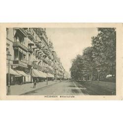 ALLEMAGNE. Wiesbaden Wilhelmstrasse 1918