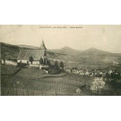 68 HUNAWIHR. Le Bourg, l'Eglise et les Vignes 1938